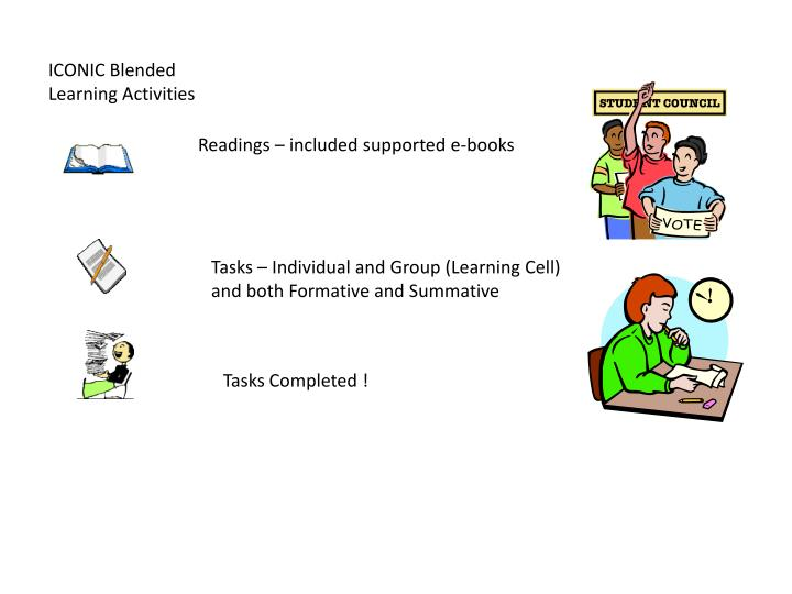 ICONIC Blended Learning Activities