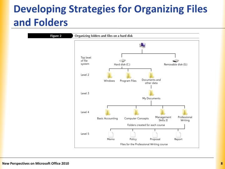 Developing Strategies for Organizing Files and Folders