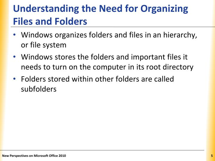 Understanding the Need for Organizing Files and Folders