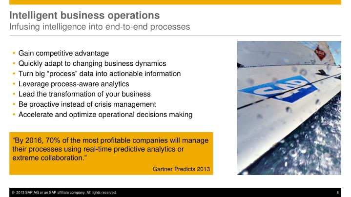 Intelligent business operations