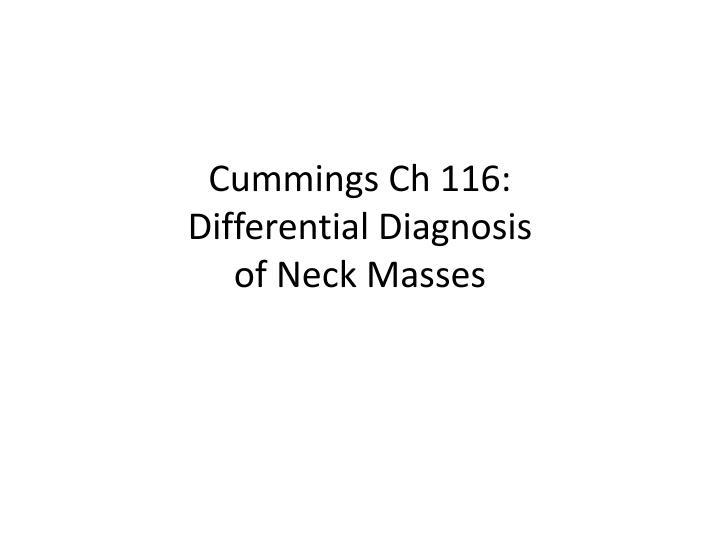 Cummings Ch 116: