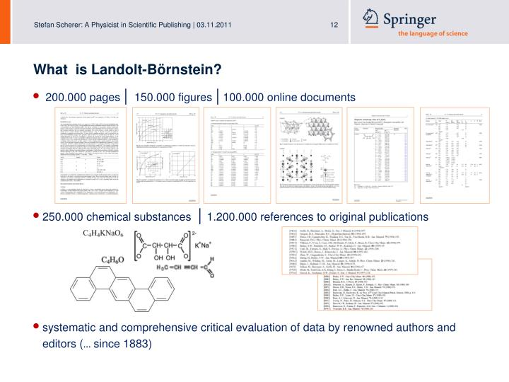 What  is Landolt-Börnstein?