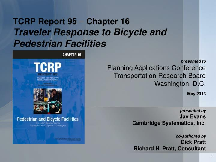 Tcrp report 95 chapter 16