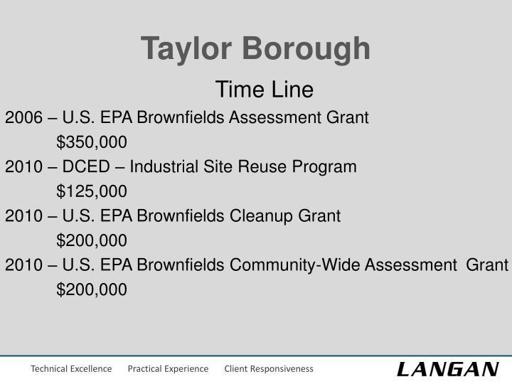 Taylor Borough
