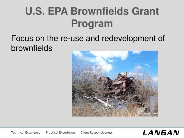 U.S. EPA Brownfields Grant Program