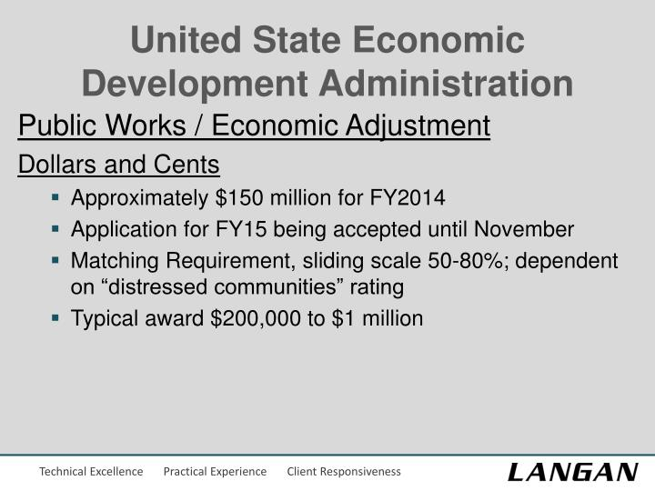 United State Economic Development Administration