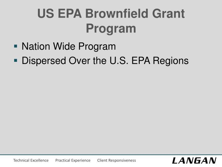 US EPA Brownfield Grant Program