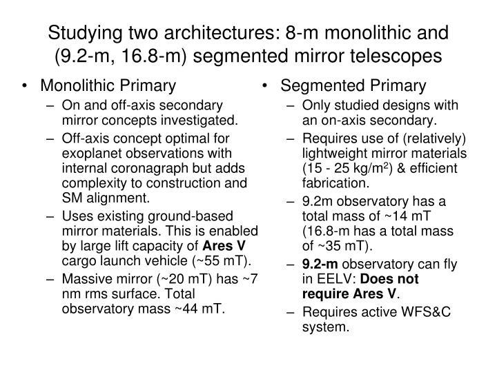 Monolithic Primary