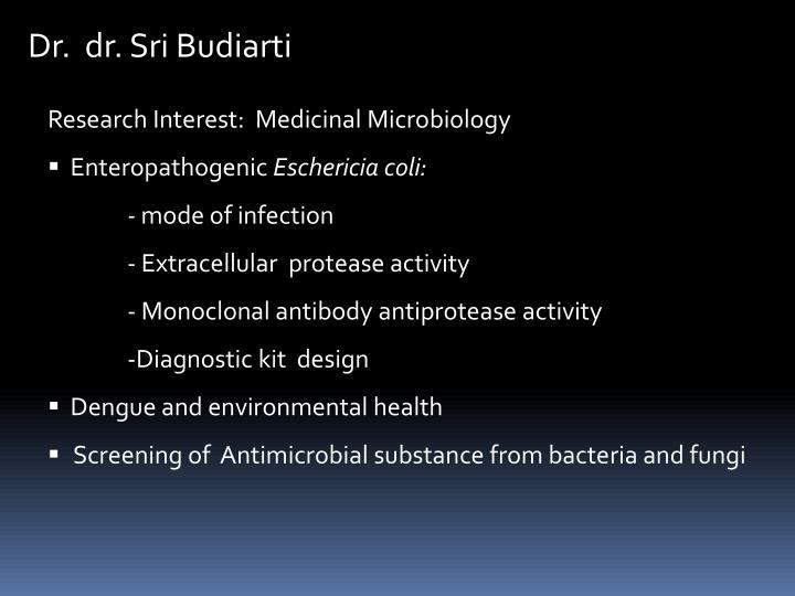 Dr.  dr. Sri