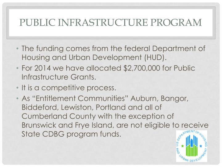 Public Infrastructure Program