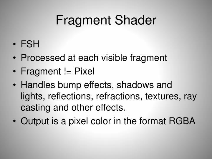 Fragment Shader