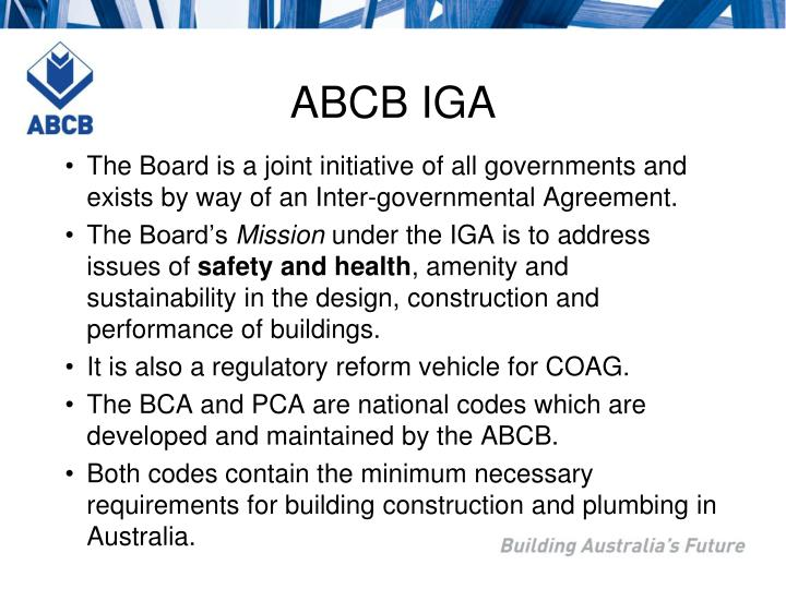 ABCB IGA