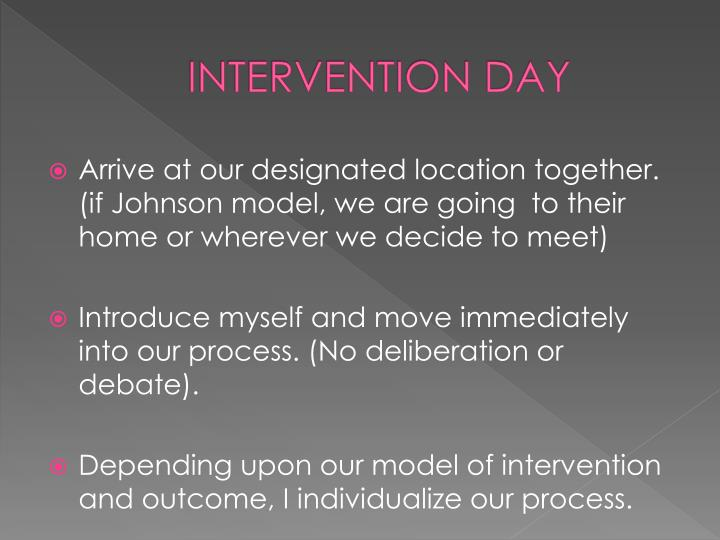 INTERVENTION DAY