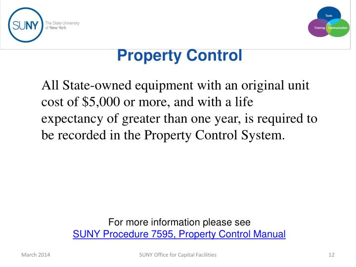 Property Control