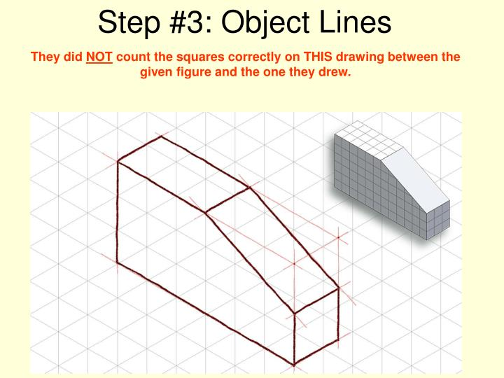 Step #3: Object Lines