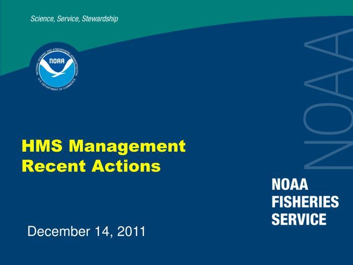 HMS Management