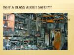why a class about safety6