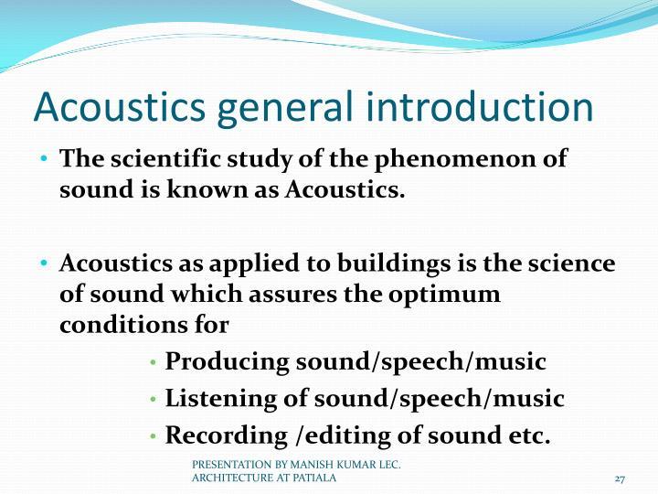 Acoustics - Learn.org