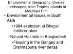 environmental geography diverse landscapes from tropical islands to mountain rim