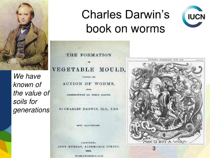 Charles Darwin's book on worms