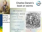 charles darwin s book on worms
