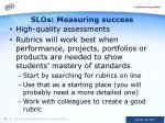 slos measuring success
