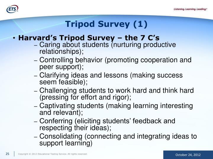 Tripod Survey (1)