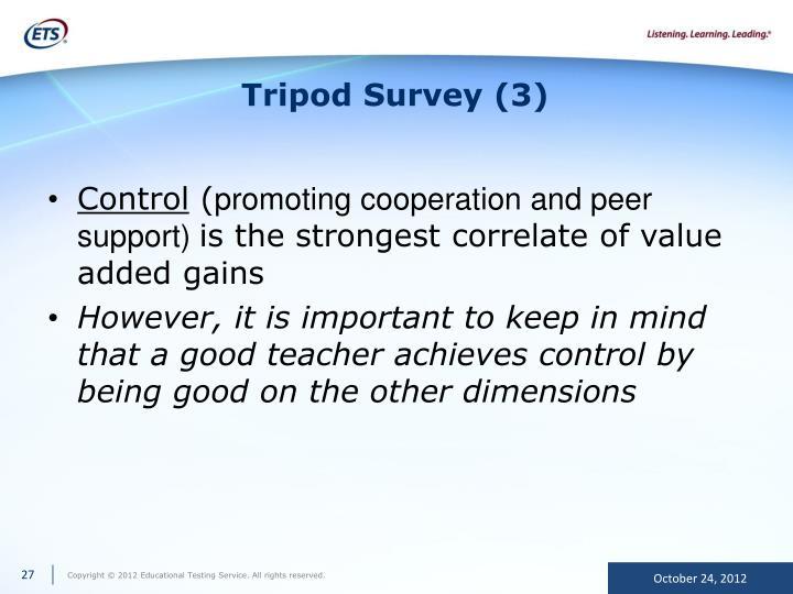 Tripod Survey (3)