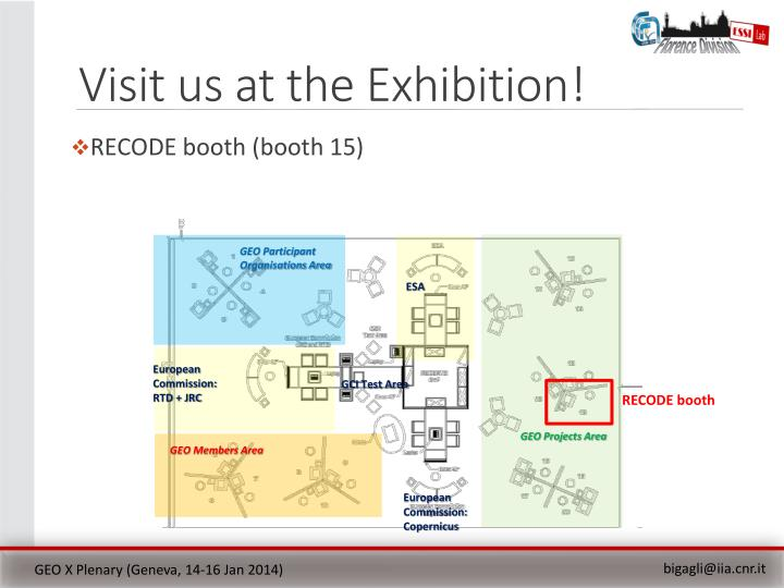 Visit us at the Exhibition!