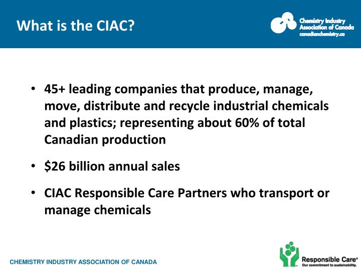 What is the CIAC?