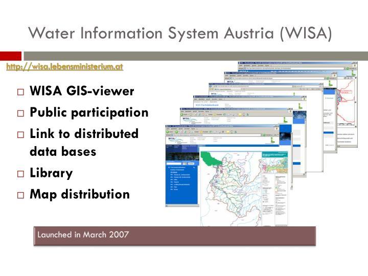 Water Information System Austria (WISA)