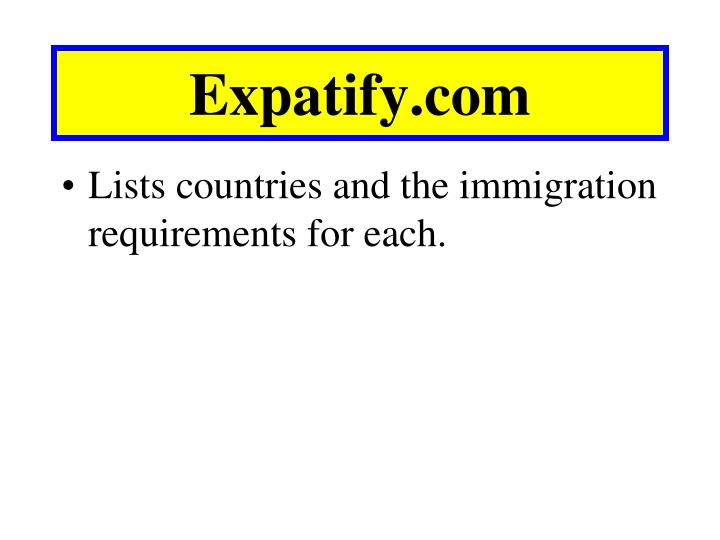 Expatify.com