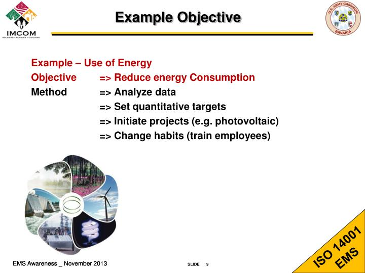 Example Objective