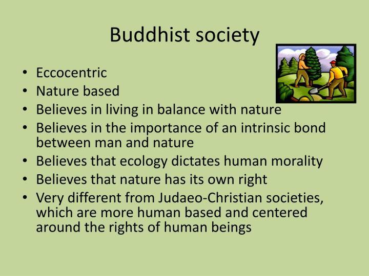 Buddhist society