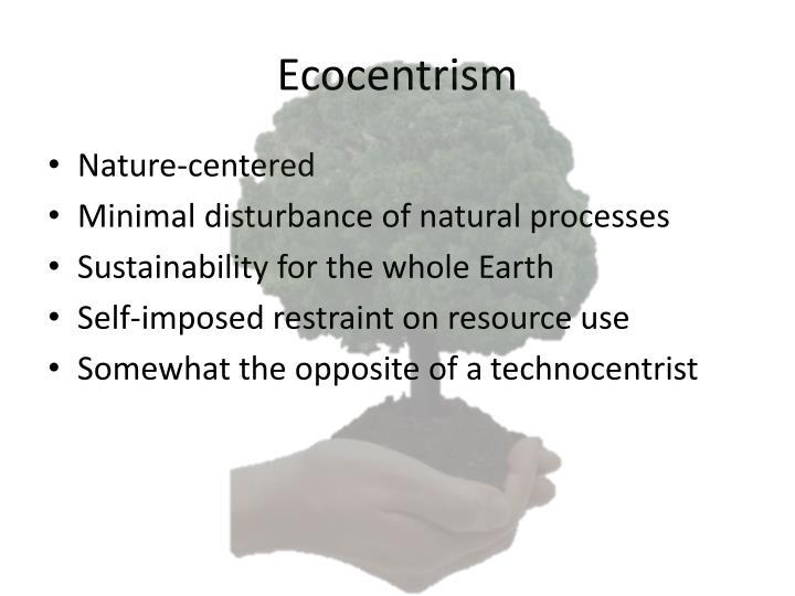 Ecocentrism