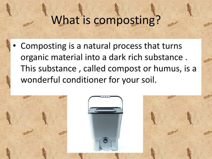 Ppt waste is wealth powerpoint presentation id 1635928 for What is rich soil called