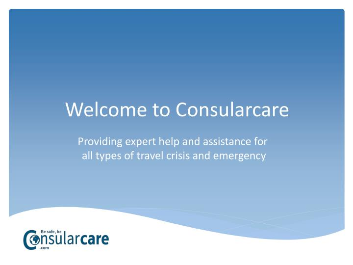 Welcome to consularcare