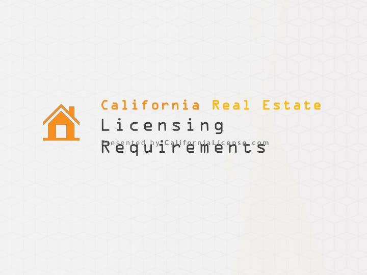 California real estate