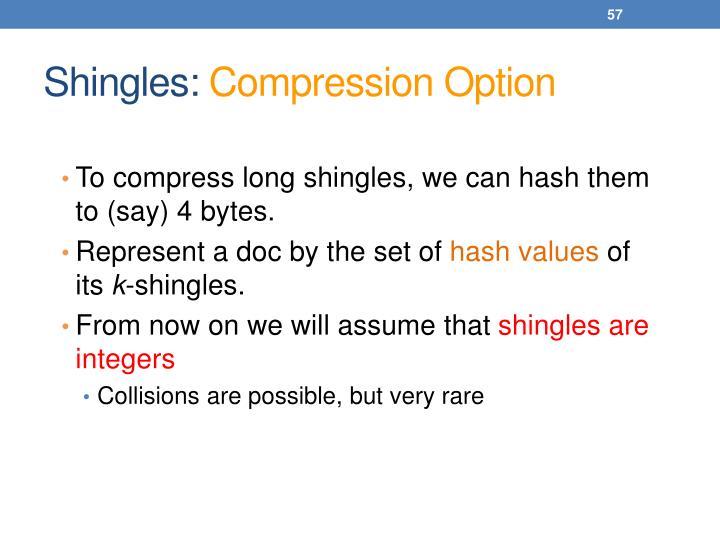 Shingles: