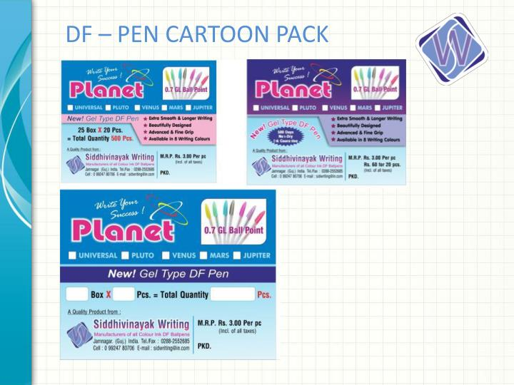 DF – PEN CARTOON PACK