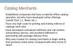 catalog merchants
