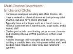 multi channel merchants bricks and clicks