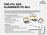 the ctl 2go classmate pc nl4