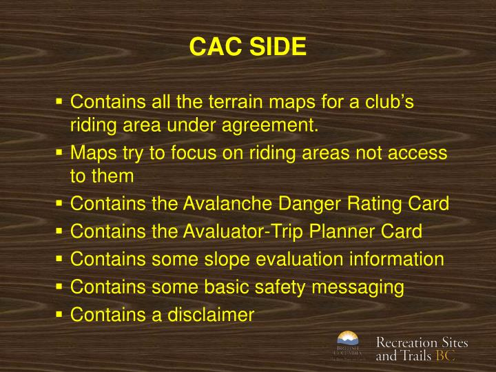 CAC SIDE