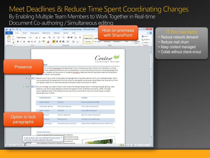Meet Deadlines & Reduce Time