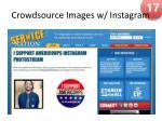 crowdsource images w instagram