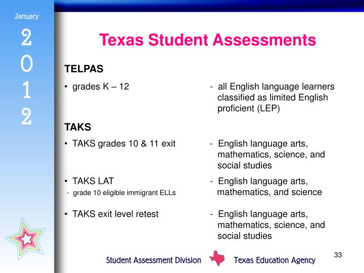 Texas Student Assessments