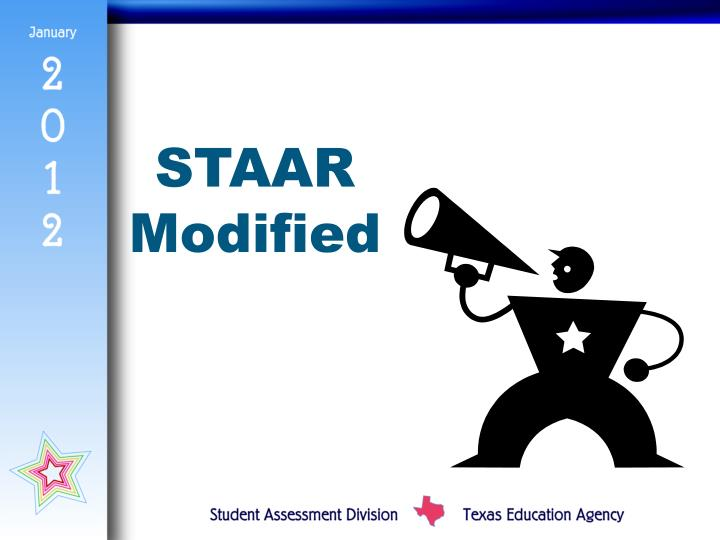 STAAR Modified
