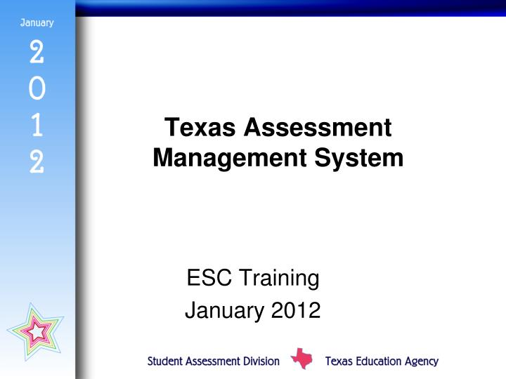 Texas Assessment