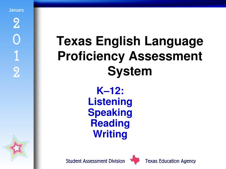 Texas English Language Proficiency Assessment System